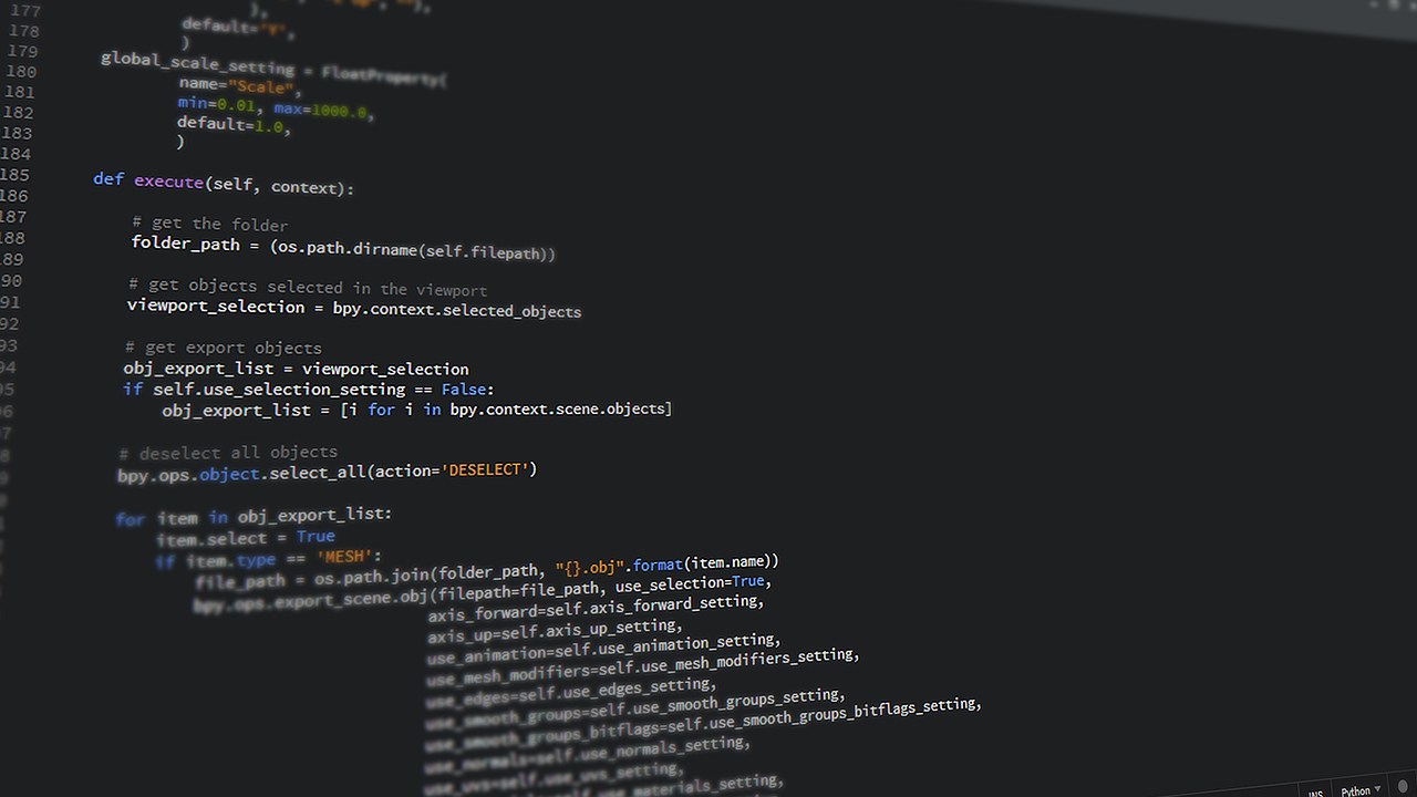 Le smeilleurs framework Python en 2020